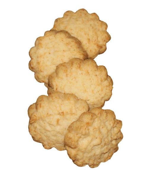 biscotti vegan al cocco - senza glutine