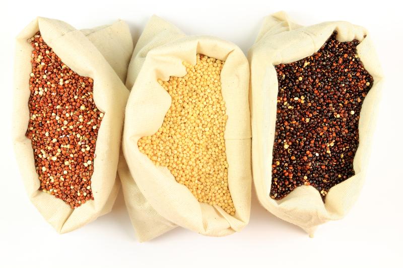 quinoa rossa gialla nera