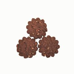 biscottini cacao e mandorle vegan