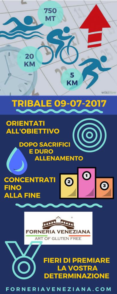infografica Triathlon Trinale 2017 Forneria Veneziana