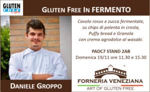 Daniele Groppo Forneria Veneziana Gourmet senza glutine