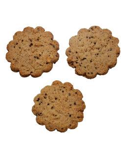 biscotti vegani con chia e mirtilli